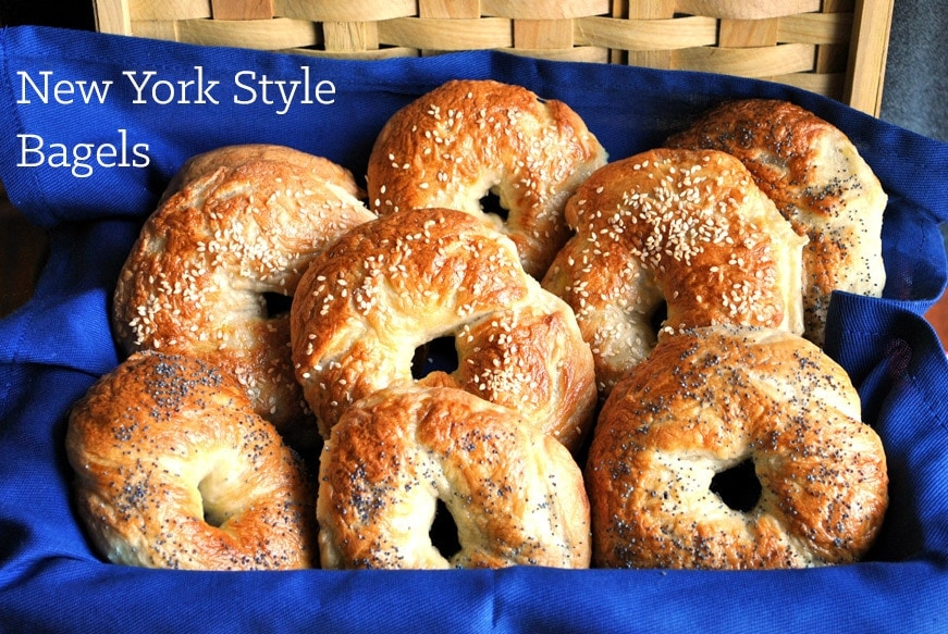 New York Style Bagels Recipe