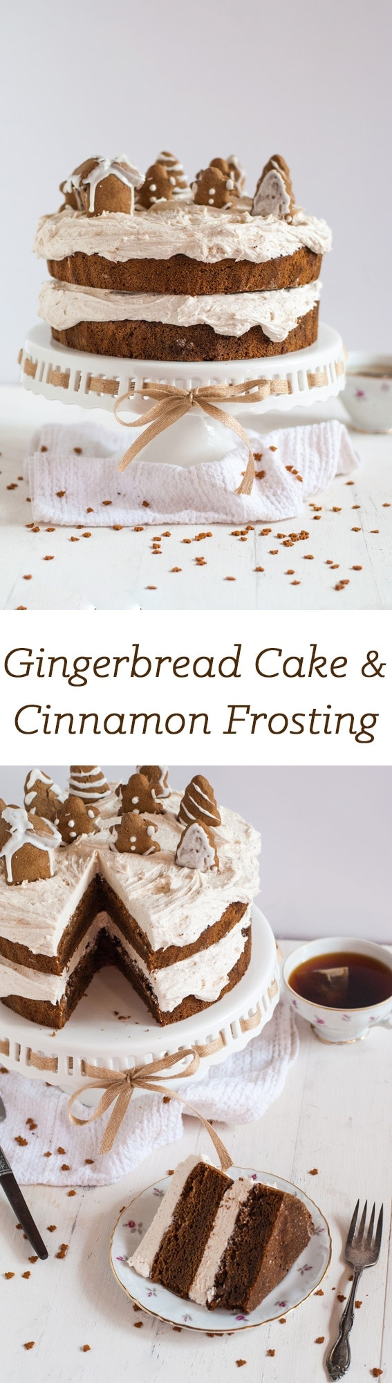 The best gingerbread cake you will ever try - guaranteed