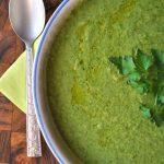 vegan green garden soup