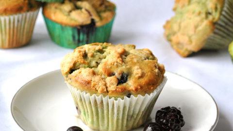 Wild Berry Avocado Muffins Recipe