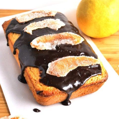 grapefruit cake chocolate ganache candied recipe