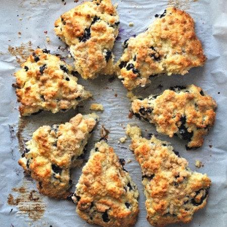 lemon blueberry scones streussel revipe
