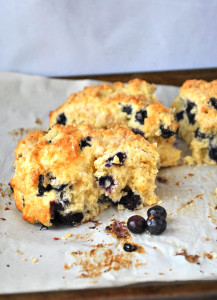 lemon blueberry scones streussel revipe