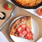 strawberry dutch baby pancake rosemary