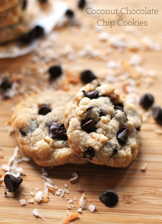 Coconut Chocolate Chip Cookies | A Cookie Named Desire