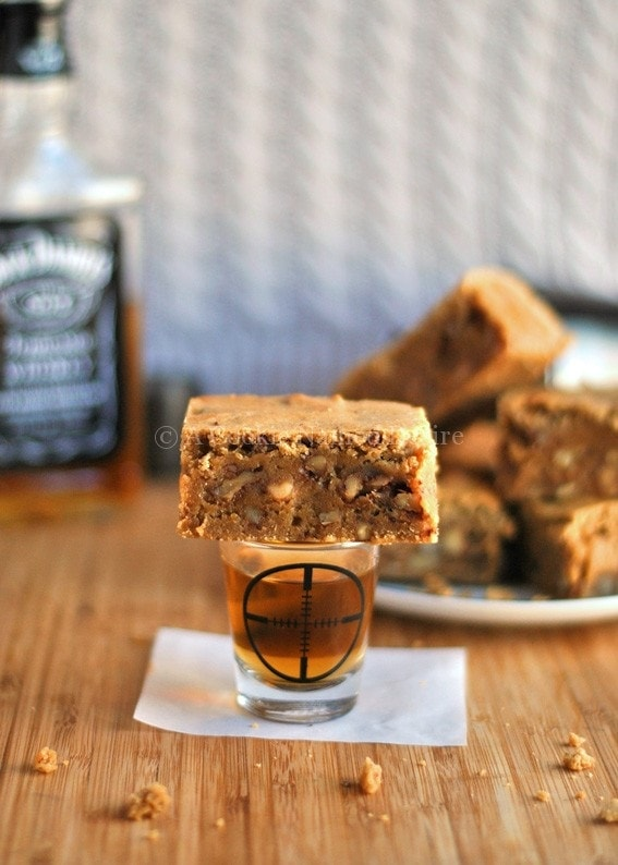 drunken blondie brownie bar recipe