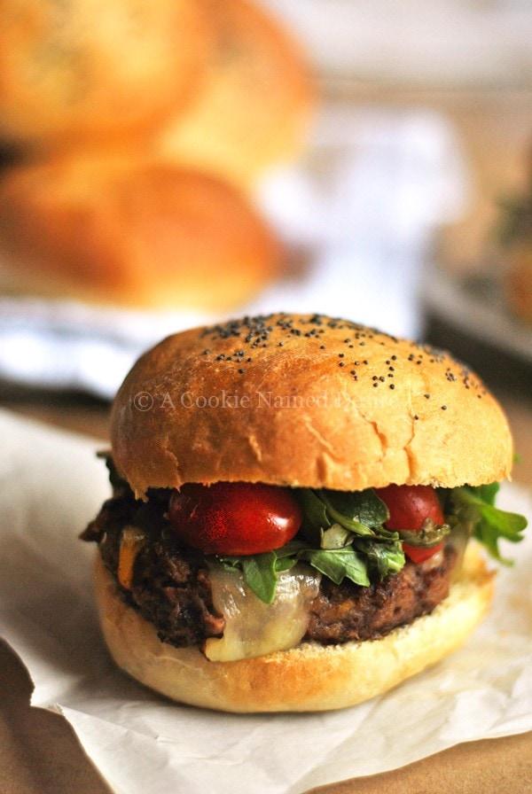 Butter Brioche Burger Buns recipe