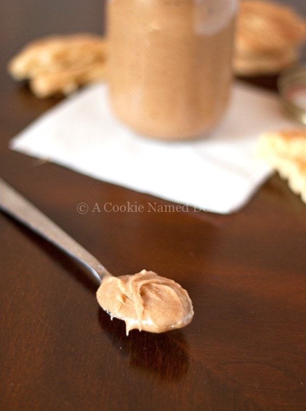 Snickerdoodle Cookie Butter + Snickerdoodle Recipe