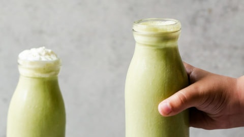 Matcha Green Tea Milkshakes