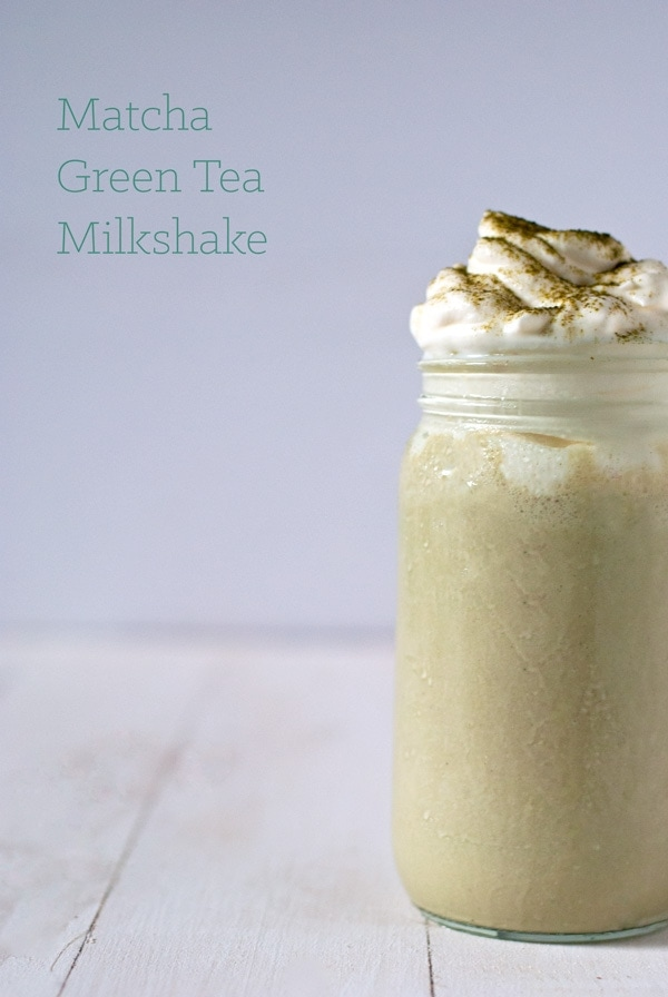 Green Tea Matcha Milkshakes