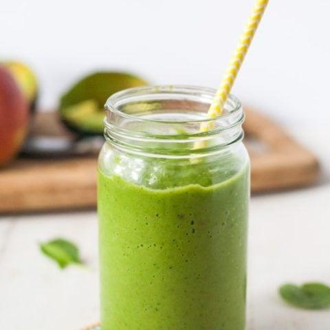 Super Green Smoothie | @cookiedesire