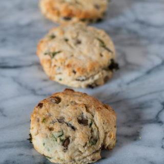 Savory Breakfast Scones   @cookiedesire