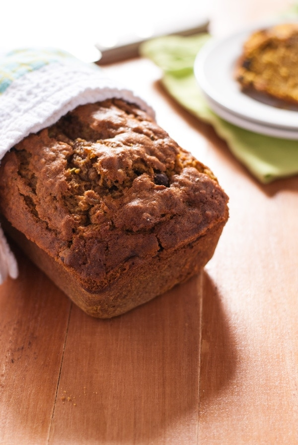 Zucchini Pumpkin Bread Recipe | @cookiedesire