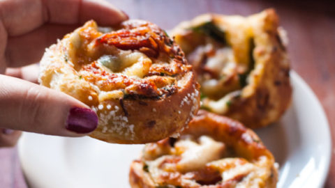 Pretzel-y Pizza Rolls