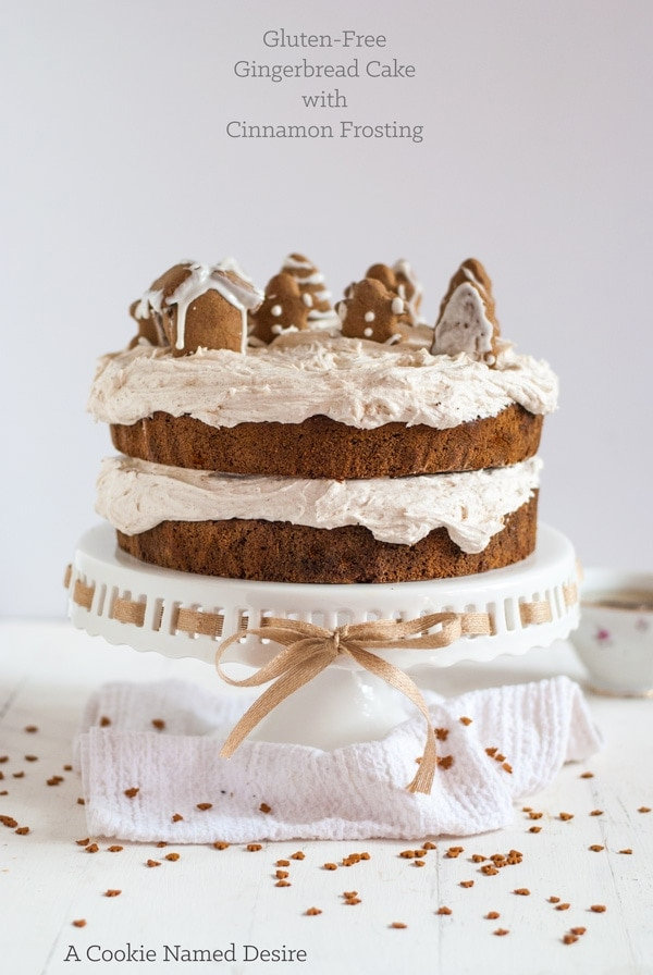 Gingerbread Cake With Cinnamon Buttercream Gingerbread Cookie Recipe Gluten Free