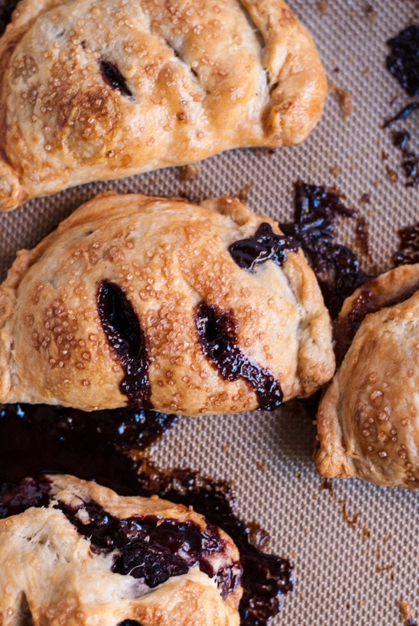 Pear and Chocolate Hazelnut Hand Pies