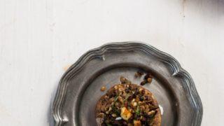 Quinoa and Feta Stuffed Mushrooms