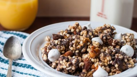 Chocolate Nut Cereal