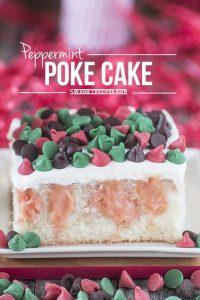 Peppermint-Poke-Cake