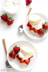 Vegan Strawberry Shortcake with Coconut Whipped Cream 2