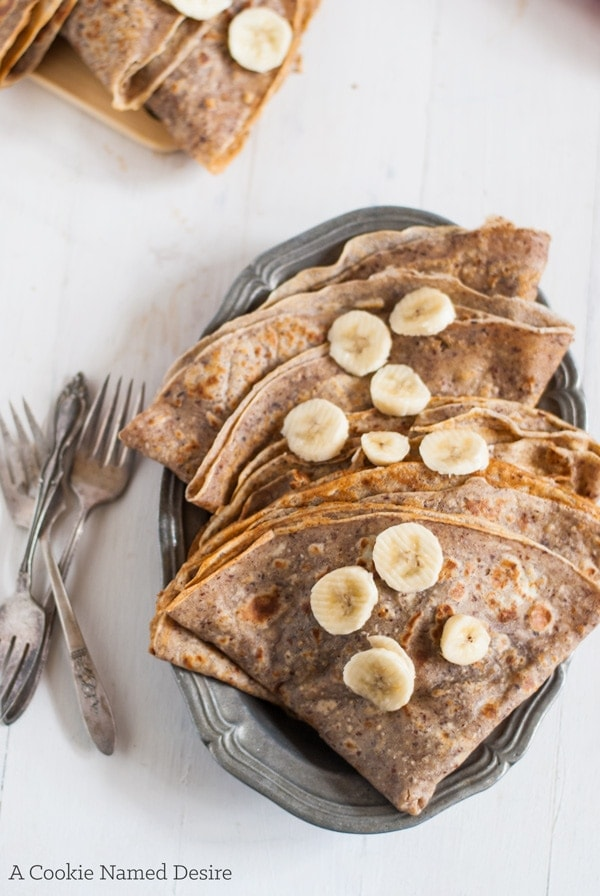 Hazelnut Crepes Recipe