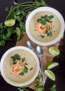 Thai-Coconut-Curry-Cauliflower-Soup-with-Shrimp