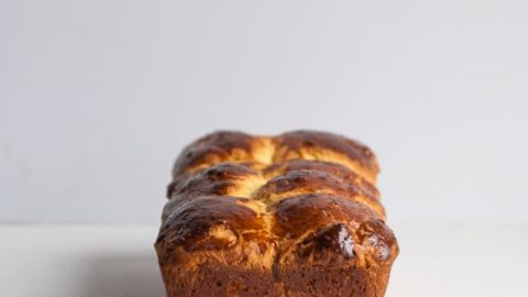 Authentic Buttery French Brioche Loaf