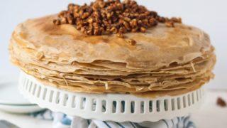 Baklava Crepe Cake