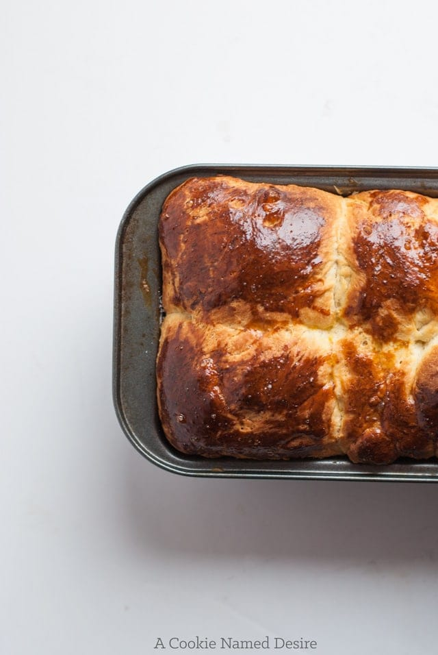 French buttery brioche loaf