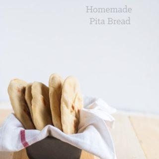 a deliciously authentic homemade pita bread recipe