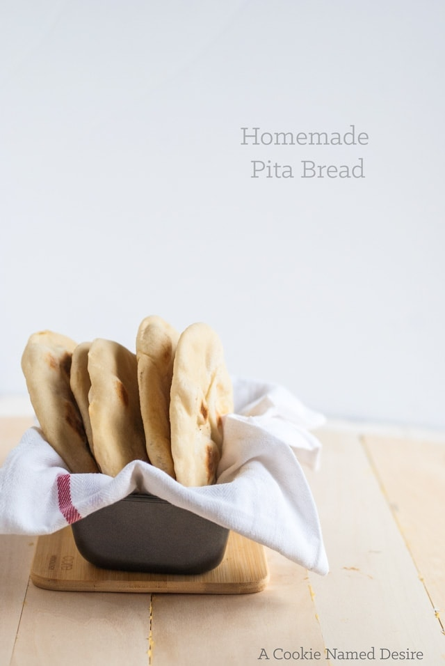 a deliciously authentic homemade pita bread recipe