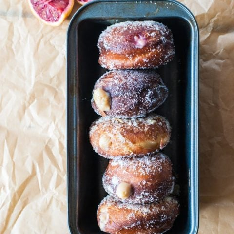 Your new favorite doughnut: the blood orange cream-filled doughnut