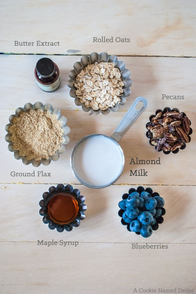 Overnight oats make the perfect simple breakfast option. Make them fun by flavoring them like blueberry pancakes