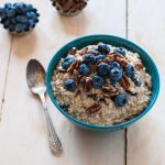 blueberry pancake overnight oats