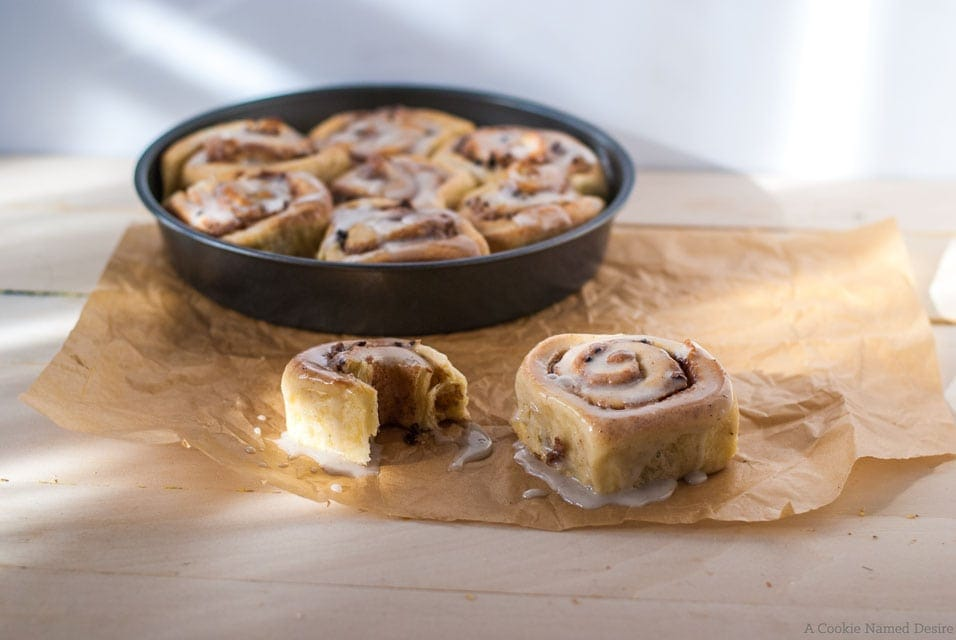 Cinnamon marzipan brioche rolls - perfect breakfast rolls