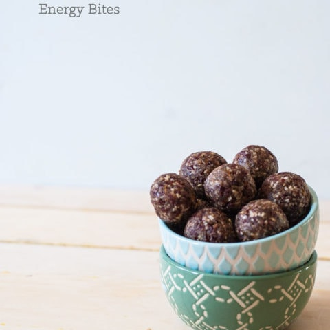 Cherry Pie Energy Balls