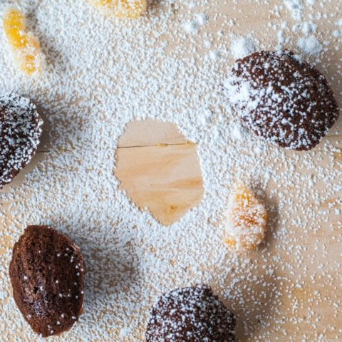 This easy recipe for chocolate chili madeleines will be your new favorite