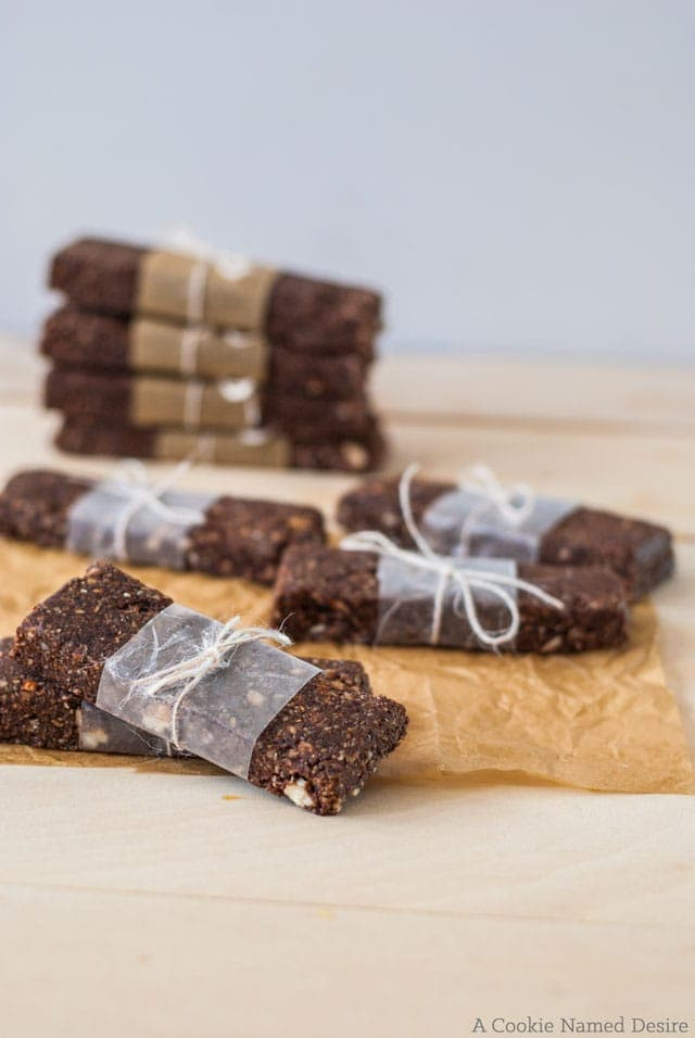 Delicious raw banana brownie bars