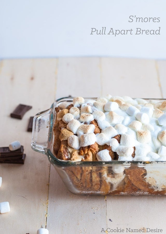 S'mores pull apart bread