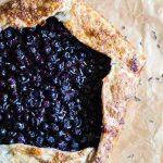 Blueberry Lavender Galette