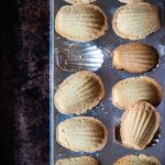 Brown Butter Lavender Madeleines