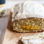 Citrus Poppy Seed Bread with Citrus Curd Swirl