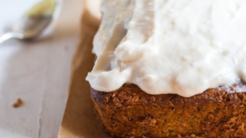 Citrus Poppy Seed Cake with Citrus Curd Swirl