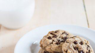 Brown Butter Hazelnut Chocolate Chip Cookies