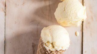 Boozy Orange Creamsicle Ice Cream aka Orange & Tequilla Big Gay Ice Cream