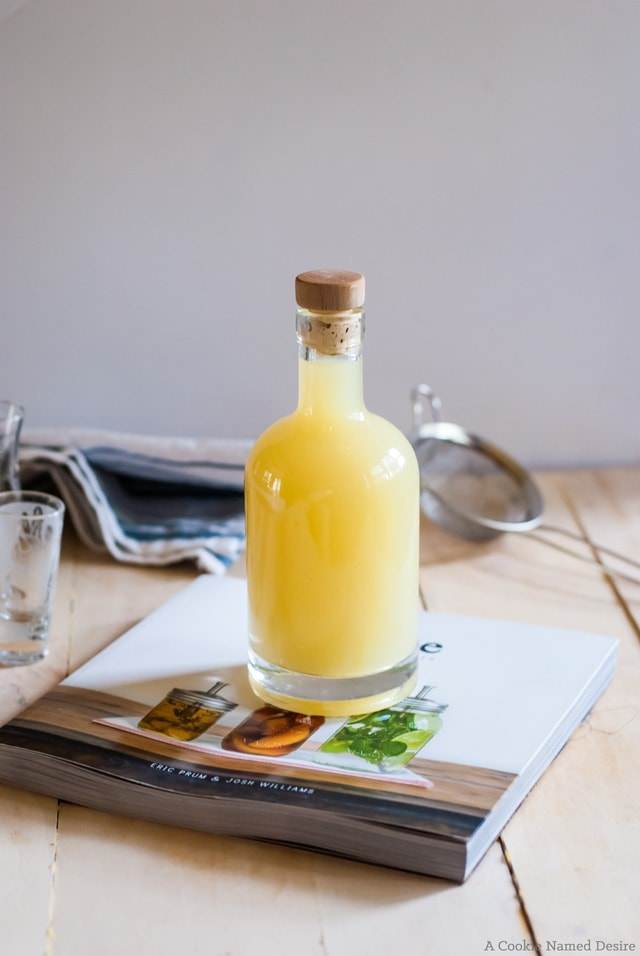 w to make limoncello easily at home