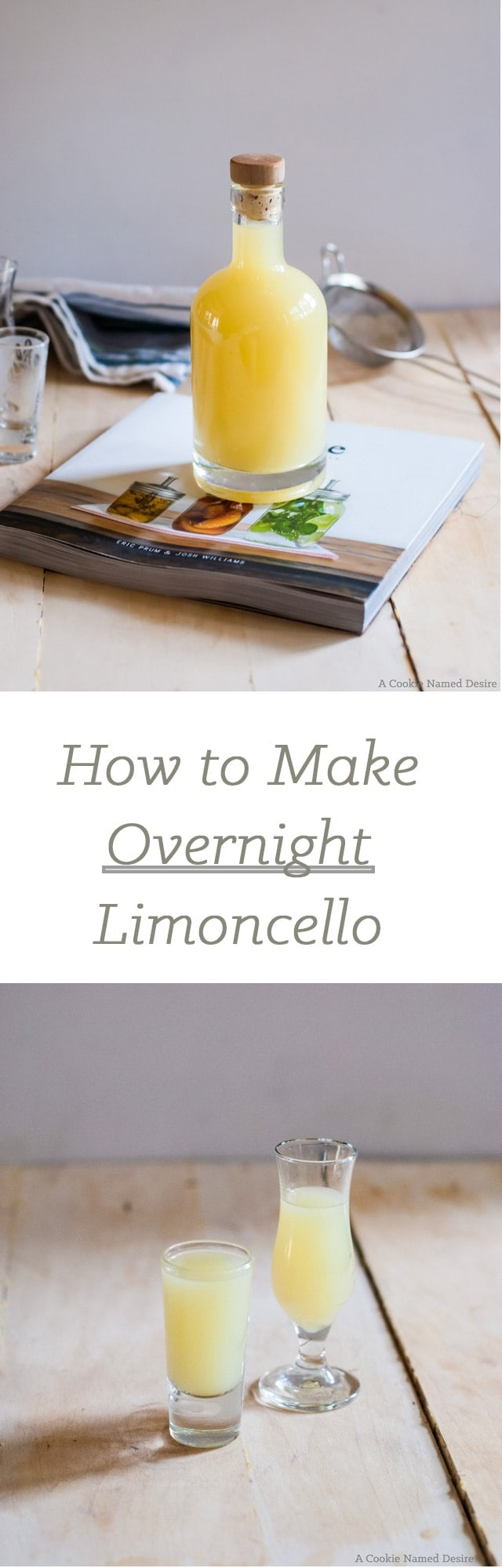 How to make overnight limoncello
