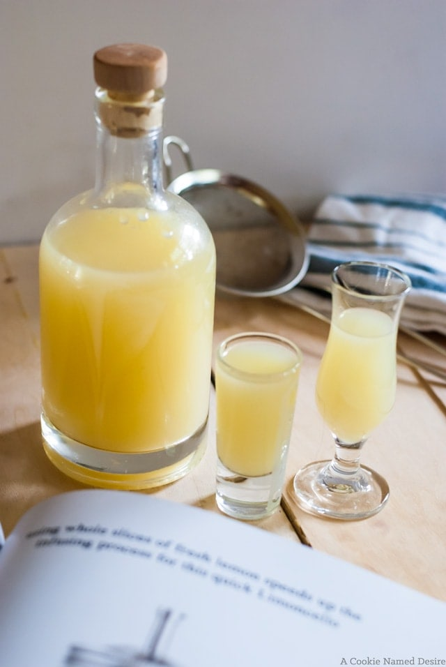 Simple recipe for making limoncello at home