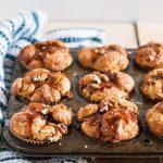 Caramel Apple Pecan Pull Apart Muffins