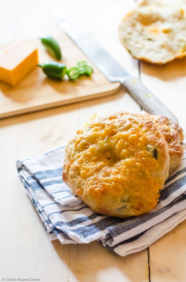 Cheddar jalapeno bagel recipe